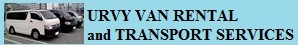 VAN FOR HIRE MANILA | URVY Van Rental and Transport Services