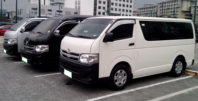 Van rental in Manila Philippines